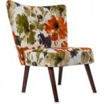 Florence Marigold Fabric Accent Chair