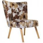 Florence Beige Fabric Accent Chair