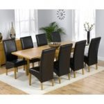 Normandy 150cm Solid Oak Extending Dining Table with Venezia Chairs
