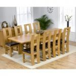 Normandy 150cm Solid Oak Extending Dining Table with Louis Chairs