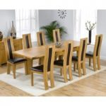 Normandy 150cm Solid Oak Extending Dining Table with Toronto Chairs