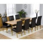 Normandy 150cm Solid Oak Extending Dining Table with Normandy Chairs