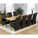 Normandy 150cm Solid Oak Extending Dining Table with Kentucky Chairs