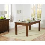 Normandy 180cm Dark Oak Extending Dining Table