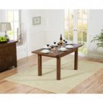 Normandy 120cm Dark Oak Extending Dining Table