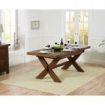 Bordeaux 160cm Dark Oak Extending Dining Table