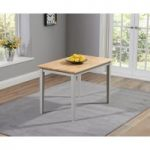 Chiltern 115cm Oak and Grey Dining Table