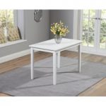 Chiltern 115cm White Dining Table