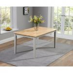 Chiltern 150cm Oak and Grey Dining Table