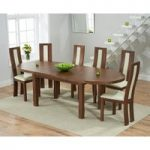 Chelsea Dark Oak Extending Dining Table with Toronto Chairs