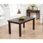 Somerset 150cm Dark Oak Dining Table