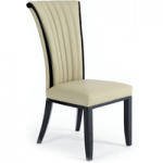 Alpine Cream Leather Dining Chairs