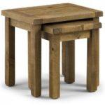 Sierra Rough Sawn Pine Nest of Tables