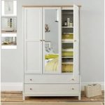 Atlanta Two Tone Triple Wardrobe