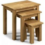 Banbury Oak Nest of Tables