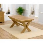 Bordeaux 160cm Oak Extending Dining Table