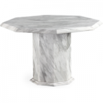 Calabro Octagonal Marble Dining Table (120cm)