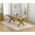 Cheshire 200cm Oak Extending Dining Table