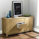 Kotiin Oak Wide 2 Door 3 Drawer Sideboard