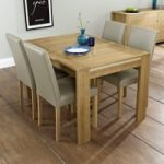 Kotiin Oak 130cm Extending Dining Table with Chairs