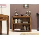Nishio Solid Walnut Low Bookcase