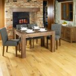 Nishio Solid Walnut 120cm Dining Table and Chairs