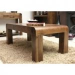 Nishio Solid Walnut 110cm Coffee Table