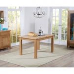 Cheadle 120cm Oak Extending Dining Table