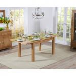 Cheadle 130cm Oak Extending Dining Table