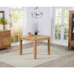 Cheadle 90cm Oak Extending Dining Table