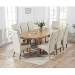 Chelsea Oak Extending Dining Table with Cannes Chairs