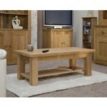 Messina 90cm Oak Coffee Table