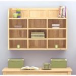 Rhone Solid Oak Reversible Wall Rack