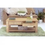 Rhone Solid Oak 4 Drawer Coffee Table