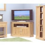Rhone Solid Oak Corner TV Cabinet