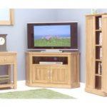 Rhone Solid Oak Corner TV Cabinet