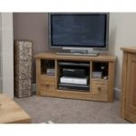 Messina Oak Corner TV Cabinet