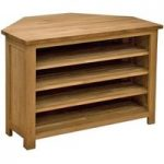 Rohan Oak Corner TV Unit