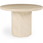 Cenadi Round Marble Dining Table