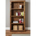 Wellbrook Rough Sawn Oak Large Bookcase