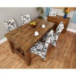 Wellbrook Rough Sawn Oak 160cm Dining Table