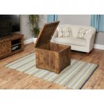Wellbrook Rough Sawn Oak Trunk Coffee Table