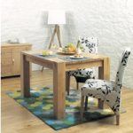 Bourne 120cm Oak Dining Table