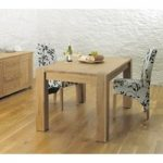 Bourne 150cm Oak Dining Table