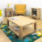 Bourne 100cm Oak Coffee Table