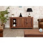 Cordoba Solid Walnut 2 Door Low Sideboard