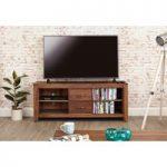 Cordoba Solid Walnut Widescreen TV Cabinet