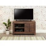 Cordoba Solid Walnut 4 Drawer TV Cabinet