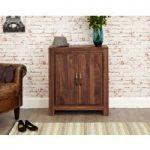 Cordoba Solid Walnut Large Shoe Cupboard