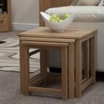 Marseille Solid Oak Nest of Tables